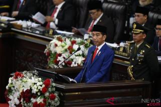 Presiden: Jokowi depan ekonomi Indonesia di tangan anak muda