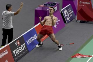 Asian Games 2018 - Jonatan Christie persembahkan medali emas bulutangkis