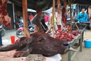 Warga mengeluh harga daging selalu tinggi tiap lebaran