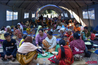 Mensos gelorakan semangat Lombok bangkit