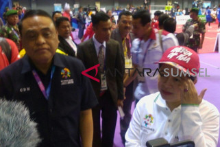 Asian Games - Puan dan Syafruddin tinjau penyelengaraan AG di Palembang