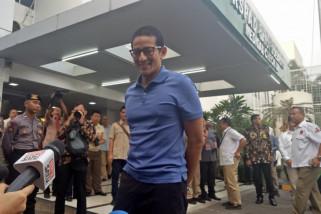 Prabowo dan Sandiaga tiba di RSPAD