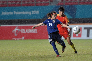 Tim Sepak Bola Wanita Jepang kalahkan China 1-0