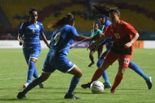 Asian Games - Timnas putri Indonesia dibantai Korsel 0-12