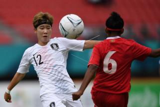 Asian Games - Tim sepak bola putri Korsel lolos ke semifinal