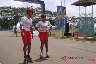 Asian Games (sepatu roda) - Sembilan negara perebutkan dua emas