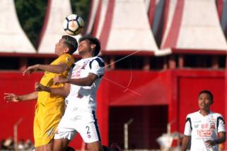 Sriwijaya FC menelan kekalahan dari Madura United