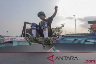 Asian Games (skateboard) - Inasgoc antisipasi hujan ganggu pertandingan skateboard