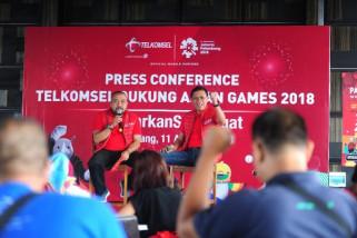 Sukseskan Asian Games, Telkomsel tingkatkan kapasitas jaringan