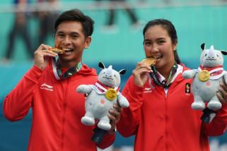 Asian Games (Tenis) - Pasangan Aldina/Christoper rebut medali emas
