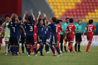 Asian Games (sepak bola putri) - Jepang kalahkan Korea Utara diperdelapan final 2-1