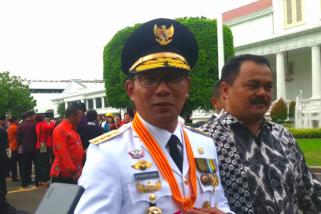 Ridwan Kamil gubernur ke-16 Jawa Barat