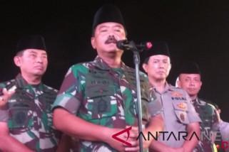 Panglima: TNI selalu jadi pemersatu bangsa