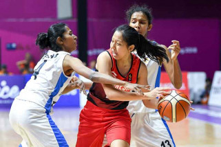 Tim basket putri Thailand terlalu tangguh bagi Indonesia