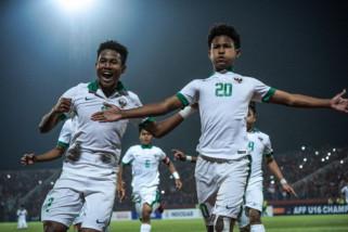 Timnas  U-16 turunkan Bagas-Bagus kontra Iran