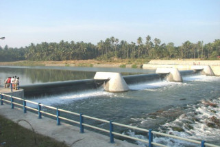 Pembangunan bendungan untuk kendalikan banjir