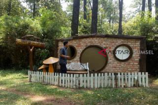 Liburan ke rumah hobbit di Punti Kayu