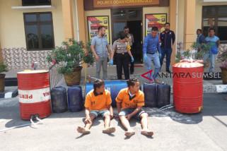 Polres OKU tangkap pelaku pengecor bbm bersubsidi