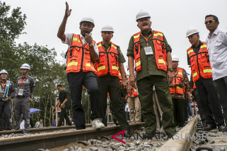 Pembangunan Rel Kereta Api Khusus Batubara