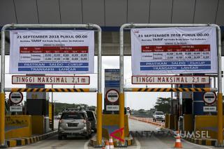 Tarif Baru Tol Palembang - Indralaya