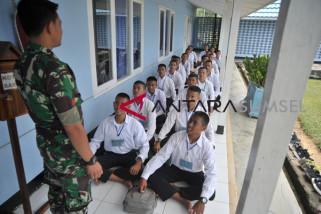 Penerimaan Bintara TNI AU di Palembang
