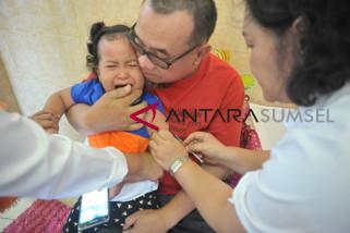 Sisa 10 hari lagi, imunisasi MR di Palembang baru capai 29 persen