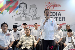 Tim Jokowi-Ma'ruf sudah terbentuk di seluruh daerah