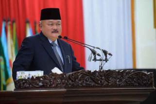 Gubernur mohon maaf kepada masyarakat Sumsel