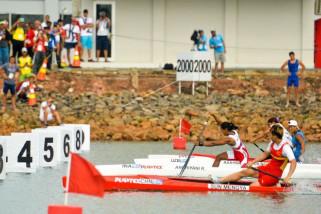 Asian games - Tim dayung putri Indonesia gagal meraih medali di nomor k4 500m