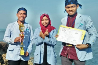 Tiga Mahasiswa UIN Raden Fatah raih prestasi Internasional Jamboree Of Islamic Economics Student