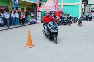 Astra motor edukasi 'safety riding' pelajar