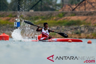 Kayak Sprint Semifinal Tunggal Putri