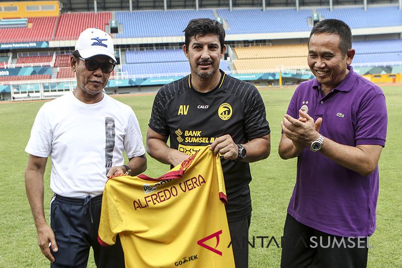 Pelatih Baru Sriwijaya FC