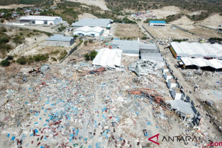 Enam Daerah Sumsel rawan gempa