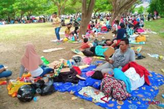 Warga tiga desa di Donggala kesulitan makanan