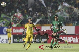 Sriwijaya FC ditekuk PSMS Medan 3-0