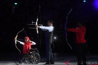 Presiden Jokowi buka Asian Para Games 2018 dengan bahasa isyarat