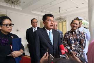 Jusuf Kalla: Pemerintah tidak minta bantuan asing