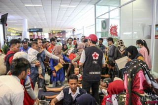 Lion Air Palembang berangkatkan keluarga korban ke Jakarta