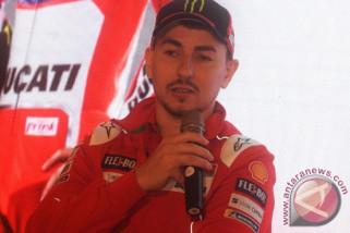 Lorenzo masuk rumah sakit setelah kecelakaan di GP Thailand