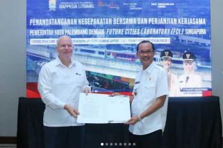 Palembang terima hibah Singapura aplikasi penataan kota