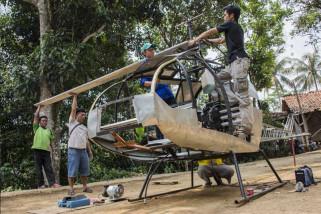 Helikopter Karya Warga Sukabumi