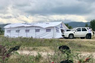 TNI AD dirikan hunian sementara pengungsi