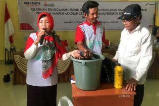 Program Bank Sampah CSR Pertamina berbagi berkah