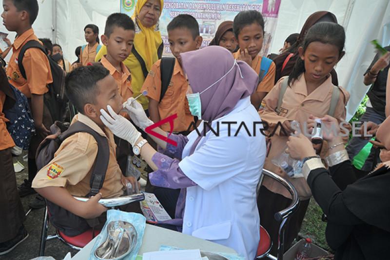 Peringatan Hari Kesehatan Nasional di Palembang