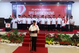 Antasari Azhar lantik DPD Garda Jokowi Sumsel