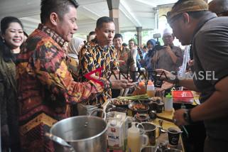 Gelaran Festival Kopi Rakyat Sumsel di Griya Agung