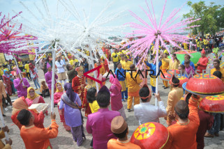 Aneka budaya di Festival Pesona Lokal Palembang