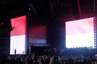 Kikan buka Konser Guns N' Roses dengan Indonesia Raya
