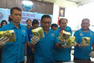 BNNP Sumsel gagalkan peredaran tujuh kilogram sabu